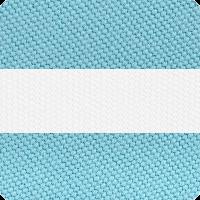 Turquoise_&_White_Stripe