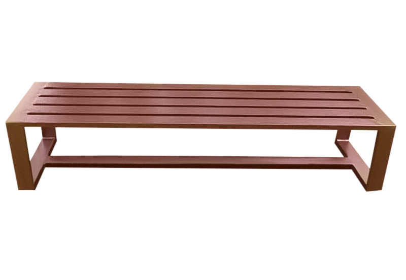 Aluminum Backless Bench – B-2013