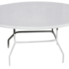 C36x54F Oval Fiberglass Table