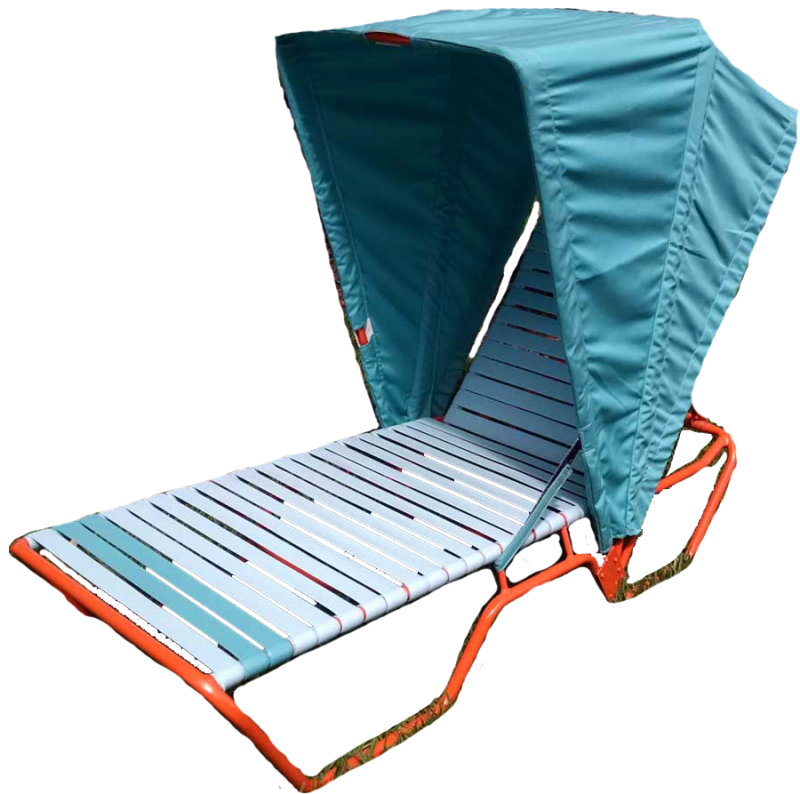 CAB-L Single Chaise Lounge Cabana