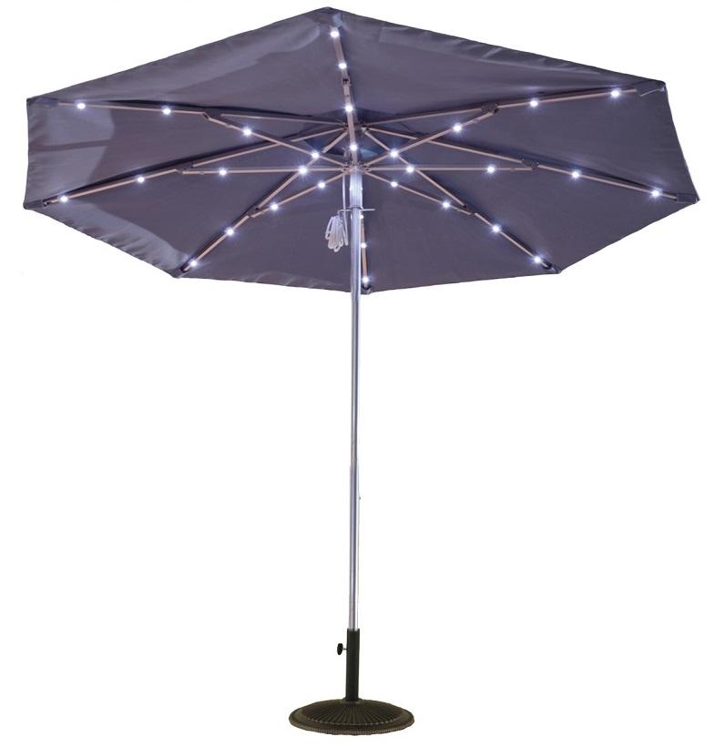 9ft Solar Light Umbrella