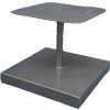 """U-CWPUNCHU, 95 - 125 lb. Cement Umbrella Base With 20"""" X 20"""" Square Punch Top & Hole"""