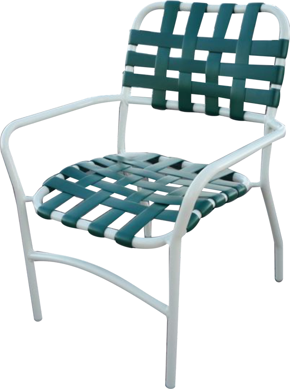A-53C Cross Strap Chair
