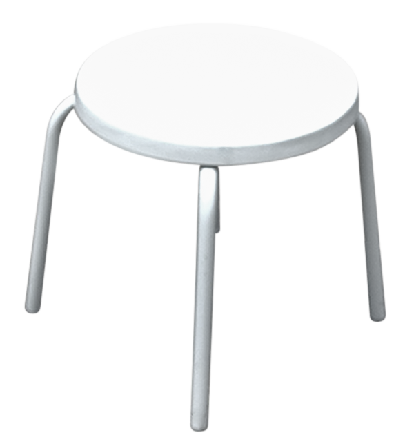 C-18 Fiberglass Side Table