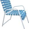 Classic Cross Strap Dining Chair - C-50C