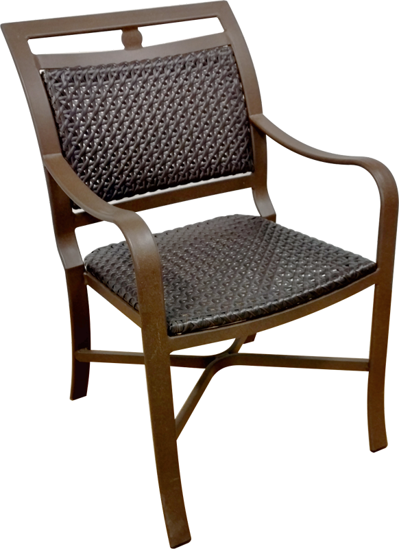O-51WV Dining Chair with Arms