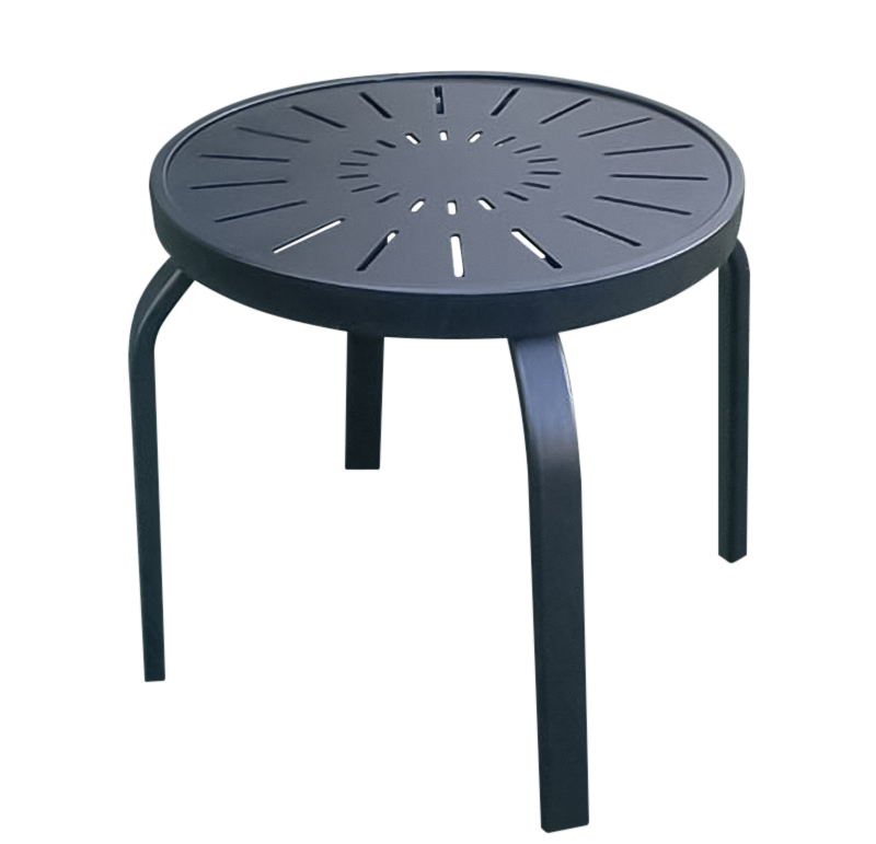 Aluminum Patio End Table - R-18PUNCH