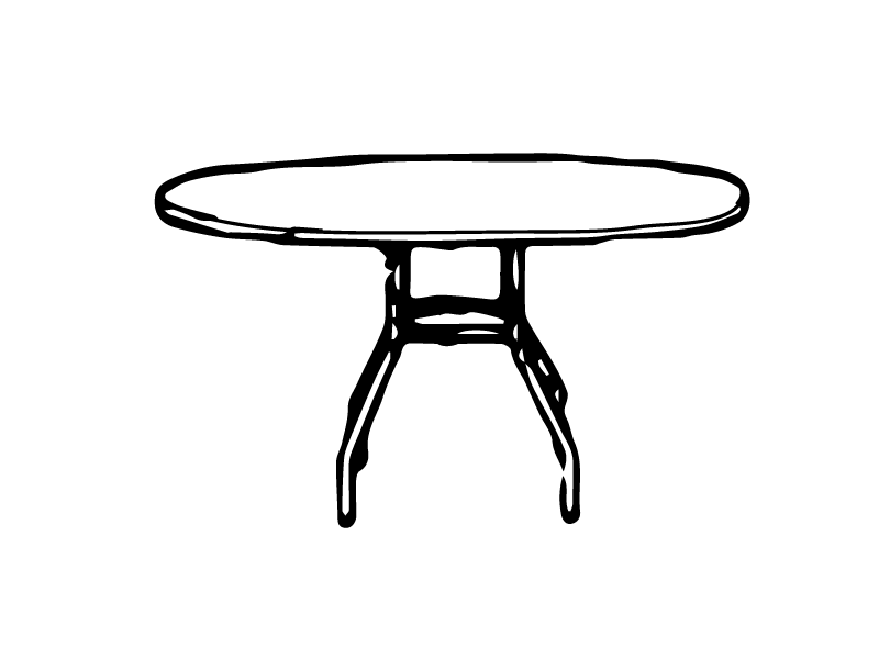 K-44x72F Table